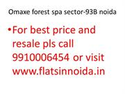 omaxe forest spa 9910006454 omaxe forest spa resale