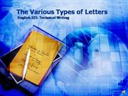 The Letter-Types