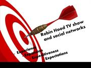 2 Robin Hood TV show and social networks