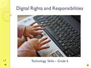 Digital Rights and Responsibilities