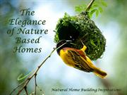 Natural Home Building Examples - The Elegance of Nature Based Homes
