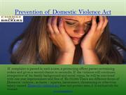 Prevention of Domestic Violence Act - Chargebackers.in