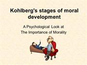 kohlbergs+stages+of+moral+development