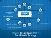 10 Ways To Build an Effective Social Media Strategy
