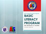 ALS Programs and Projects2 (Mobile and BLP)