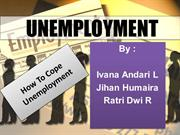 social phenomenon (unemployment)