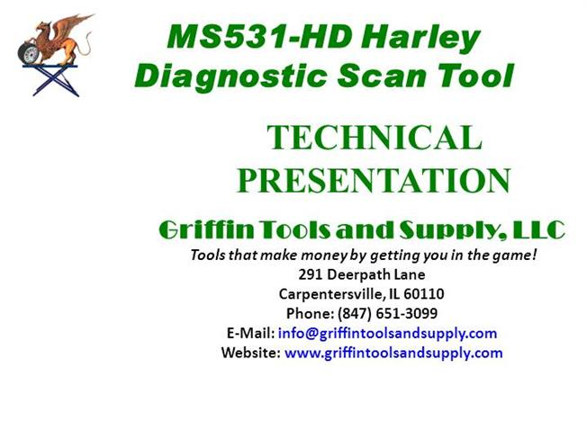 MS531-HD Harley Davidson Motorcycle Scanner |authorSTREAM