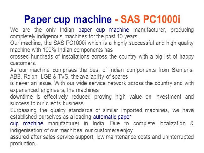 how to calculate the cost of making paper cups