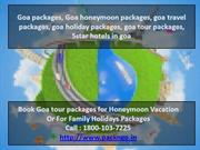 Goa packages, Goa honeymoon packages, goa travel packages