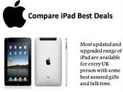 Compare iPad Best Deals:  Grab An opportunity For This Deal!