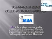 Top MBA Colleges in Rangareddy