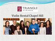 Violin Rental Chapel Hill
