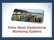 Know About Geotechnical Monitoring Systems