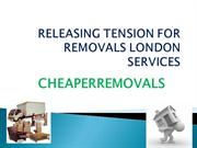RELEASING TENSION FOR REMOVALS LONDON SERVICES