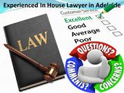 Experienced In House Lawyer in Adelaide