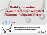 Build your Online eCommerce Store with WooCommerce