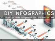 DIY-INFOGRAPHICS Create Infographics in one Hour or Less