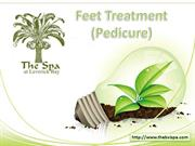 Pedicure BVI- Feet Treatments and Massage at The BVI Spa