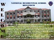 NATIONAL RESIDENTIAL SCHOOL KONANDUR