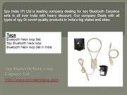 Spy Bluetooth Device| Spy Bluetooth Products
