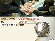 Intredex Export Compliance - Denied & Restricted Party Screening