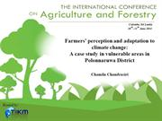 Farmers' perception and adaptation to climate change..