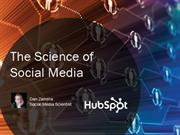 The Science of Social Media DREAMFORCE session