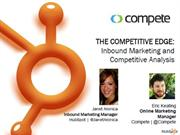 The Competitive Edge - Inbound Marketing and Competitive Analysis
