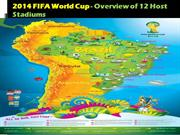 2014 FIFA World Cup - Overview of 12 Host Stadiums