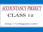 Acountancy project class 12