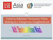 Economic Crisis in pakistan