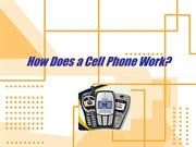 how does a cell phone work