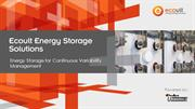 Ecoult Energy Storage Introduction into Energy Storage
