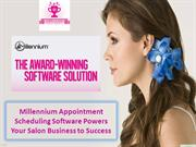 Millennium Appointment Scheduling Software Powers Your Salon Business