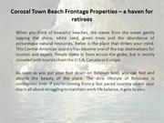 Corozal Town Beach Frontage Properties – a haven for retirees