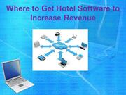 Where to Get Hotel Software to Increase Revenue