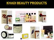 Khadi Beauty Products