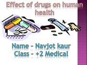 drugs & its effects
