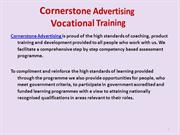 Cornerstone Advertising Guildford - Vocational Training