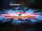 cosmos - a book of history part 1
