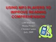 Using MP3 Players to Improve Reading
