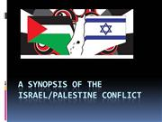 Palestine/Israel conflict ( history)