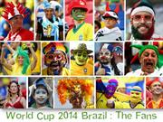 2014 Brazil  World Cup : The Fans (2)
