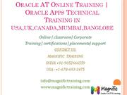 Oracle AT Online Training  Oracle Apps Technical Training in usa,uk,ca