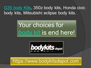 Best Selection of Honda Civic Body Kits & G35 Body Kits