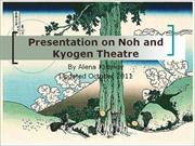 Noh and Kyogen Japanese Theatre