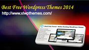 Best Free Wordpress Themes 2014