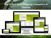 Web Designing Companies in Chennai 2014