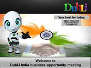 DubLi -INDIA- how to make money?