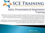 SCE Training - Sales Training Courses